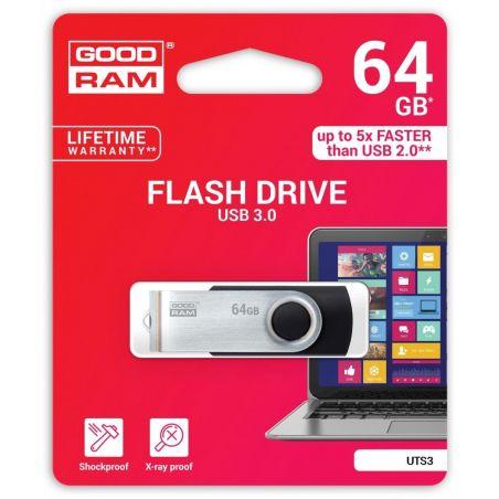 Atmintinė USB 3.0 GOODRAM UTS3 64GB