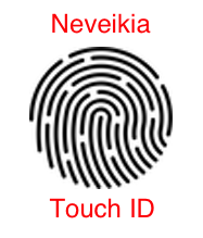 Neveikai Touch ID - Product page