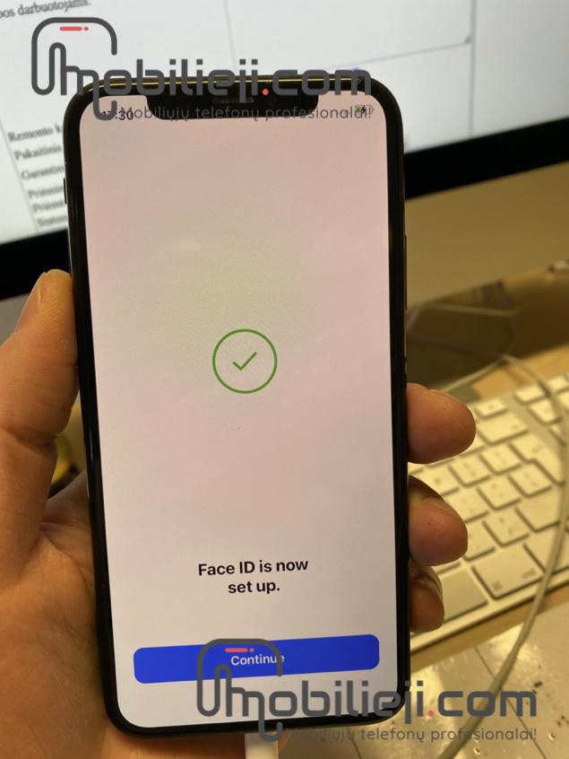 Face ID taisymas (iPhone X/XS/XS Max/XR/11/11Pro ir kt.)