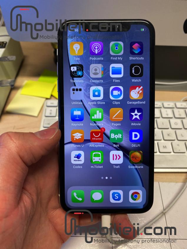 Naujas Apple iPhone XR iš garantinio ir staigi jo mirtis